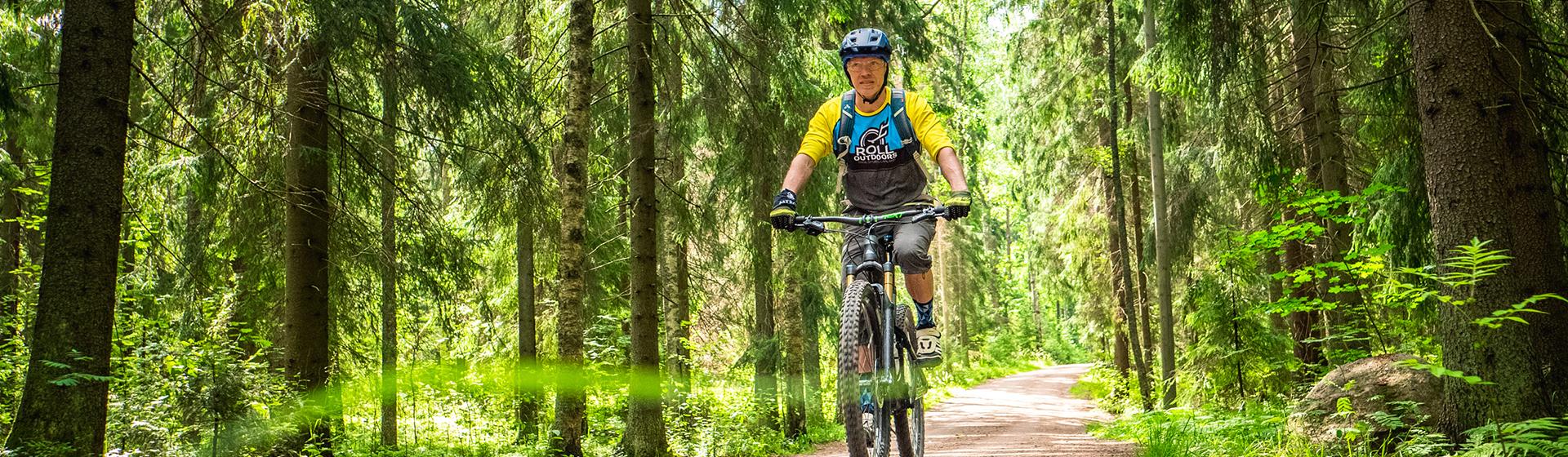 rent a mountain bike helsinki central park