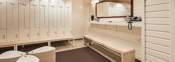 Sauna pukuhuone Hotel Haaga Helsinki